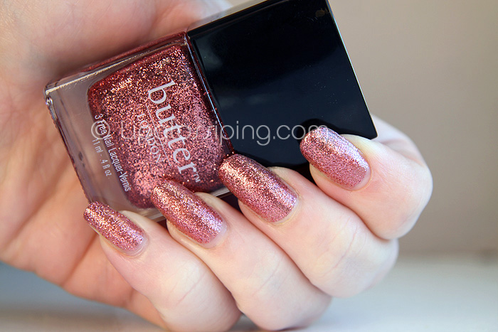 Butter London - Rosie Lee NOTD - A Makeup & Beauty Blog - Lipglossiping