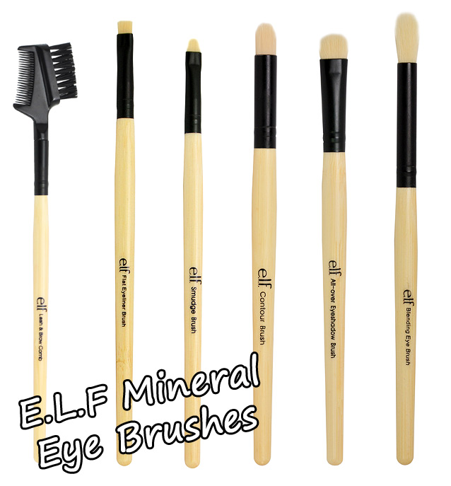 new elf brushes. from new elf brushes o