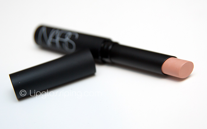 NARS Pure Matte Lipstick Madere- Review and Swatches - Café Makeup