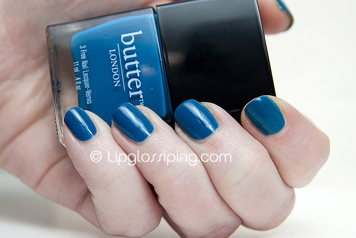 Butter London Spring/Summer 2011 - Blagger NOTD - A Makeup & Beauty Blog - Lipglossiping