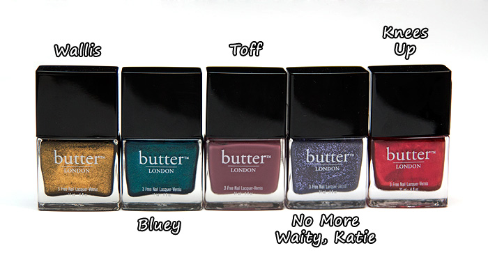 Butter London Autumn / Winter 2011 Collection - A Makeup & Beauty Blog - Lipglossiping