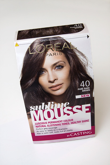 loreal hair color dye. L#39;Oreal Sublime Mousse in #40