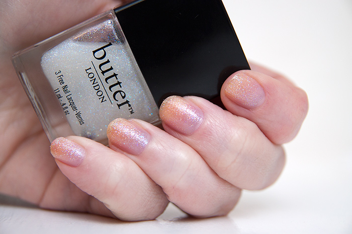 NOTD: Butter London - Frilly Knickers - A Makeup & Beauty Blog - Lipglossiping
