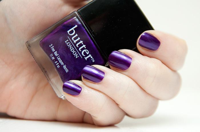 Butter London: HRH (Cadbury's Purple Ahoy!) - A Makeup & Beauty Blog - Lipglossiping
