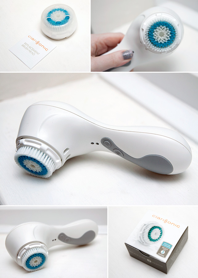 how to deep clean clarisonic brush head