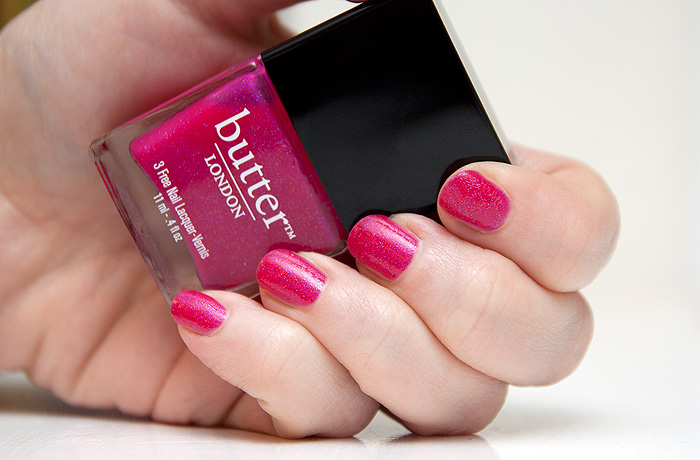 Butter London Disco Biscuit NOTD - A Makeup & Beauty Blog - Lipglossiping