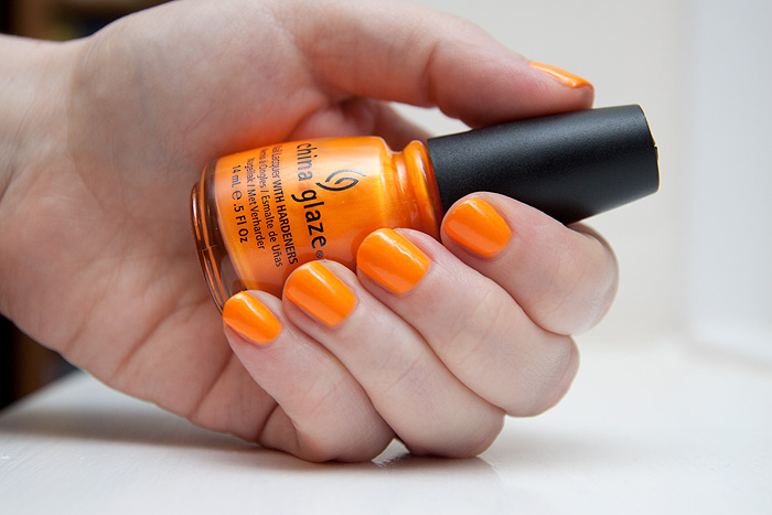 China Glaze Orange You Hot - Superb Nail Colors by China Glaze . . . .