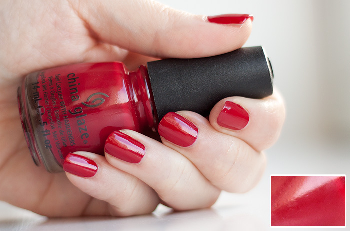 China Glaze Adventure Red y - Superb Nail Colors by China Glaze . . . .