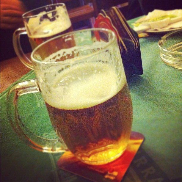 Prague Czech Beer