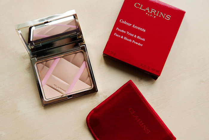 Clarins Colour Accents Face and Blush Powder