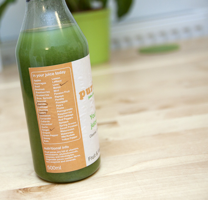 Purifyne Beautifyne Juice Cleanse