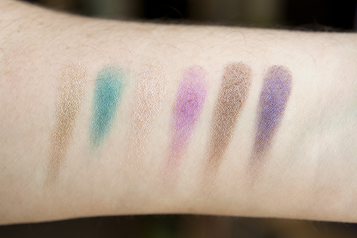 Urban Decay The Fun Palette Review, Swatches and FOTD