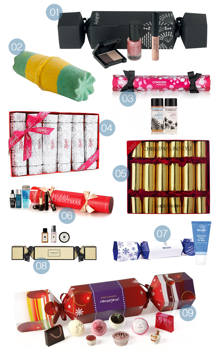 beauty christmas crackers