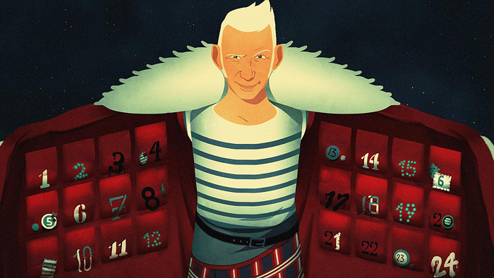 Jean Paul Gaultier's NAUGHTY Christmas Advent Calendar