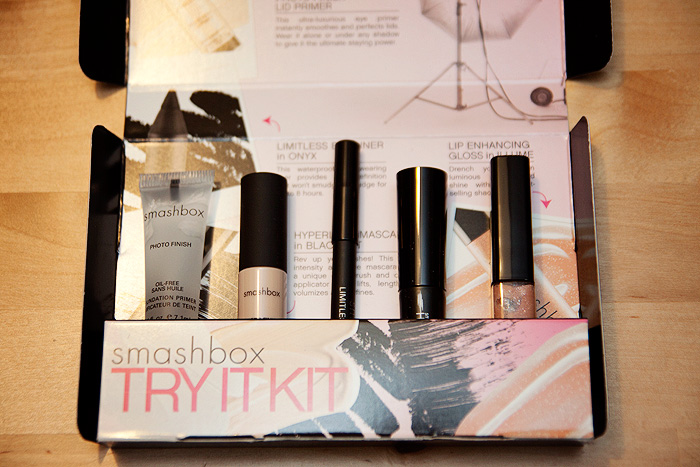 free smashbox try it kit