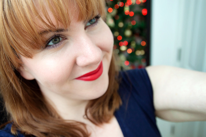 Red Lip Series: Daniel Sandler Luxury Matte Lipstick in Red Carpet