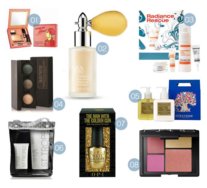Christmas Gift Guide-a-palooza: The Sparkle & Glow Set