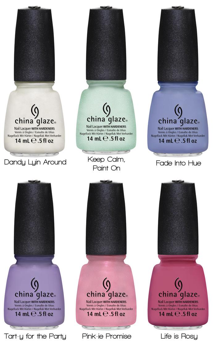 China Glaze Avant Garden Collection