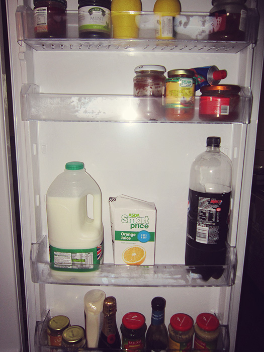 What's in my fridge?  No, really....