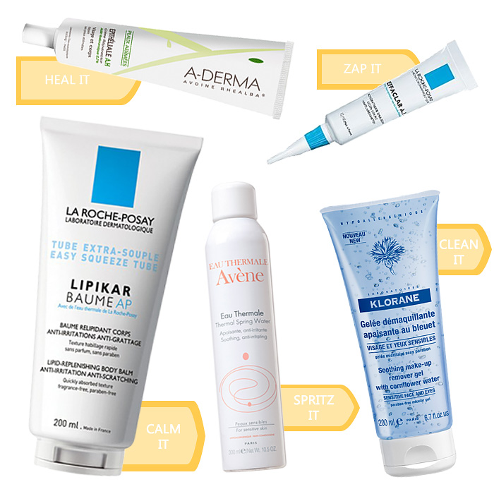 best french pharmacy skin care products
