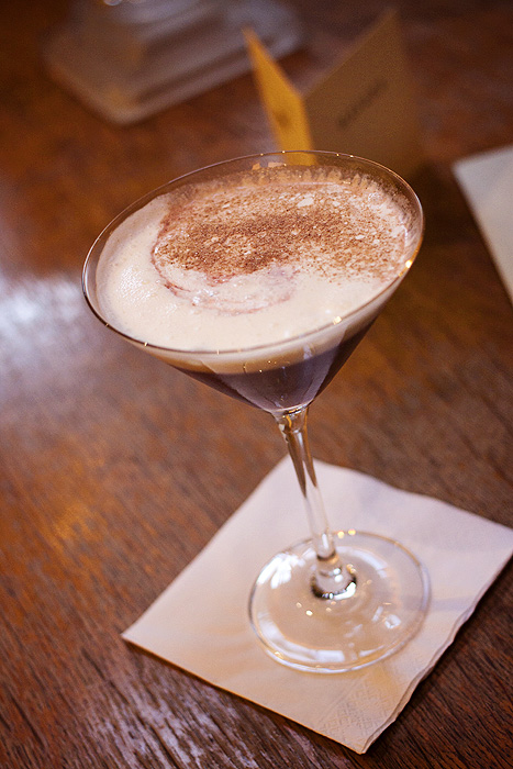 ...a Black Forest Martini!