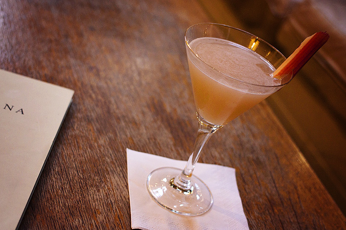 (or a Best of British - gin, rhubarb, elderflower, apple, honey and lemon)
