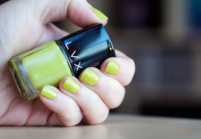 Bring on the brights! LVX Midori Nail Polish NOTD