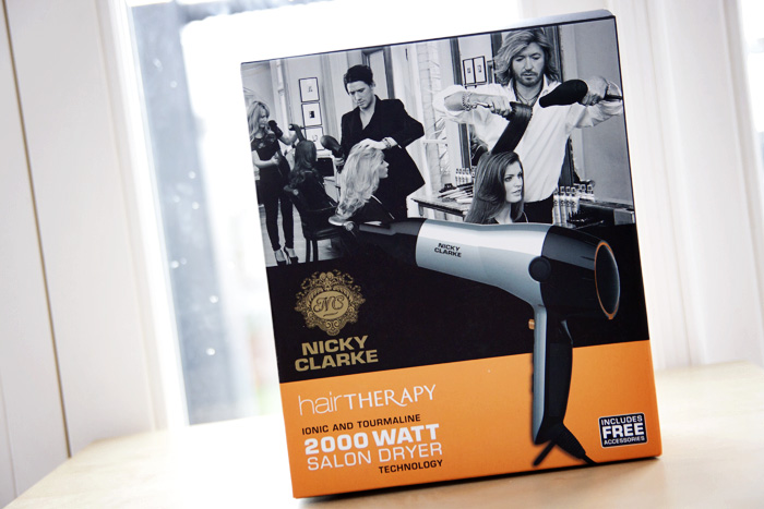 Nicky Clarke Hair Therapy 2000-watt Hair Dryer