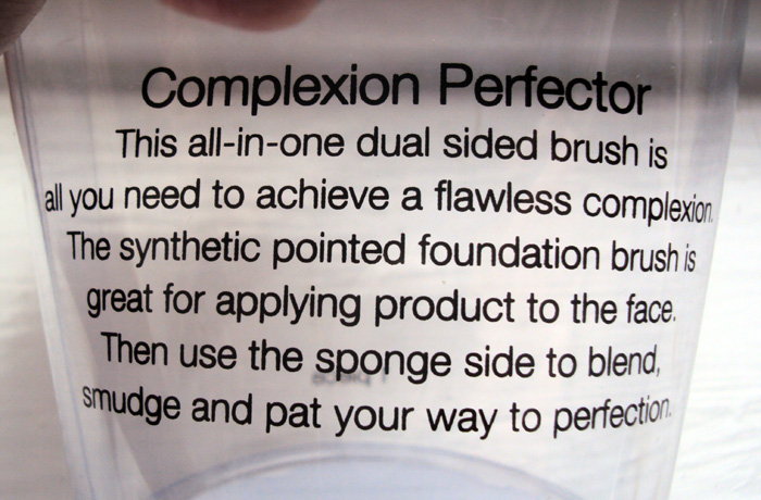 Sonia Kashuk Complexion Perfector Brush review