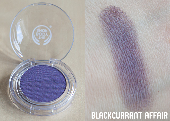 The Body Shop NEW Colour Crush Eyeshadows (swatches galore!)