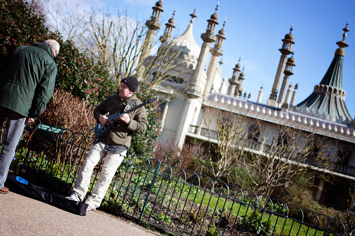 Doing my annoying shooting-from-the-hip at Brighton Pavillion