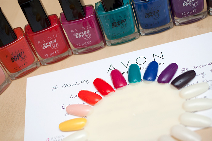 Avon Speeddry Nail Polish