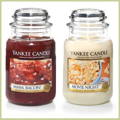 yankee man candle bacon