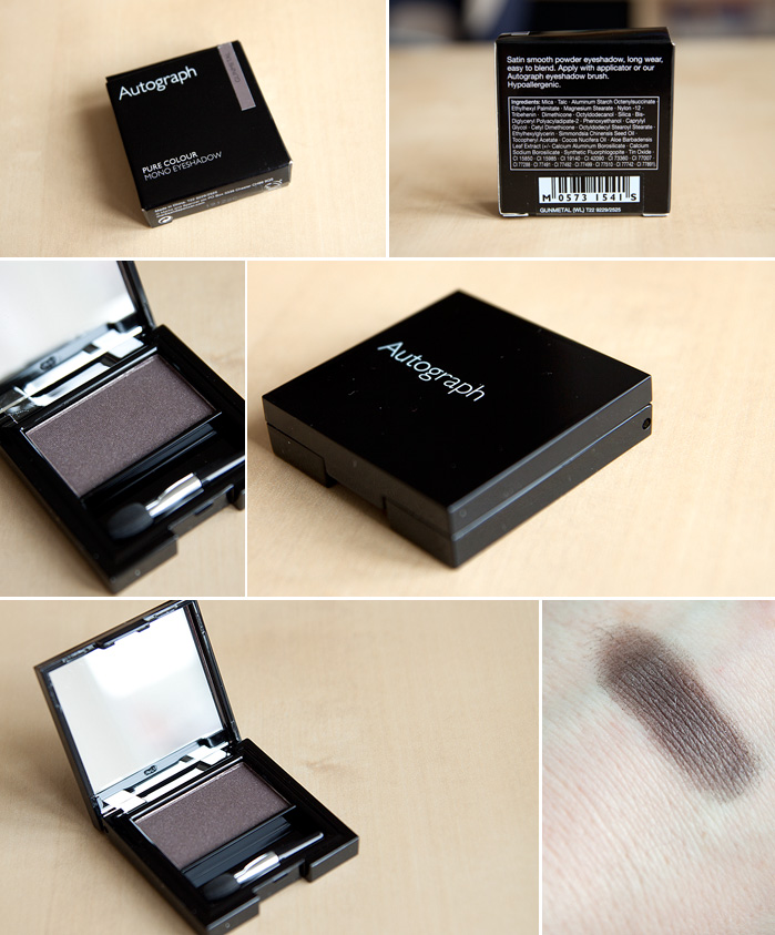 Inexpensive Beauty Find: M&S Autograph Gunmetal Eyeshadow