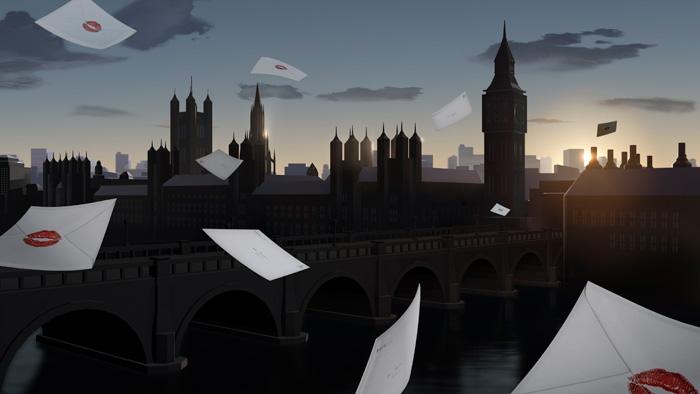 Burberry-Kisses---Skyline-(London)