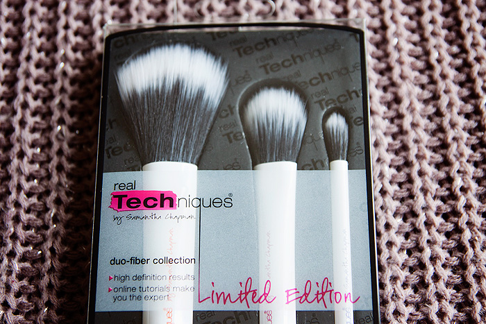 Real Techniques Limited Edition Duo-Fibre Brushes Fiber Review 2
