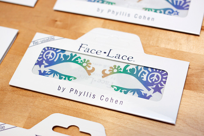 Win it! Eight festival-inspired Face Lace designs to giveaway!