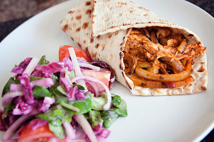 Weight Watchers Chipotle Chicken Wrap_6