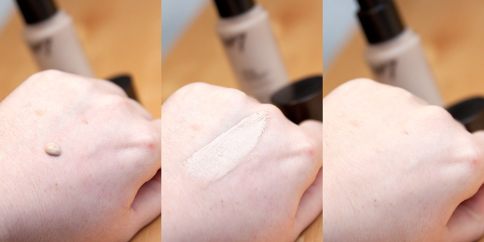 No7 Stay Perfect Foundation Review Calico Texture