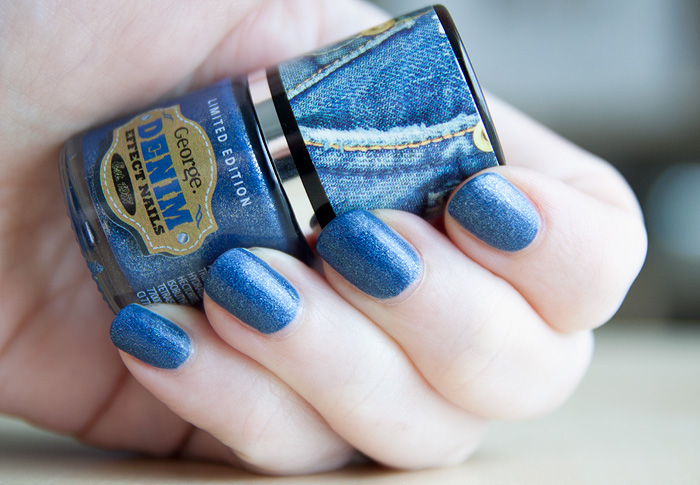 Denim Nails Asda