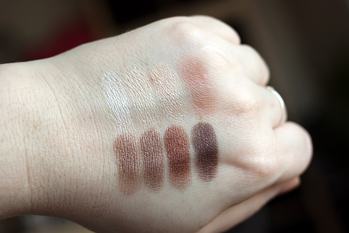 Clinique All About Shadow Neutral Territory 2 Palette Swatches