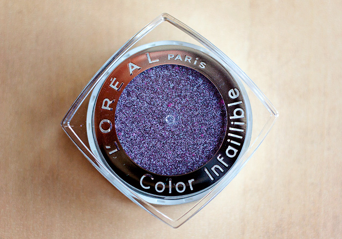 Loreal Color Infallible Eyeshadow Metallic Lilac_02