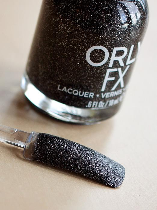 Orly Black Pixel Nail Polish