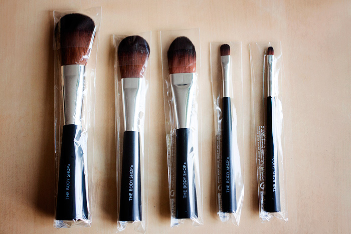 Win it! The Body Shop Expert Brush Collection