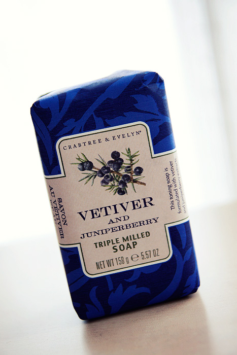 Crabtree Juniperberry Vetiver Soap